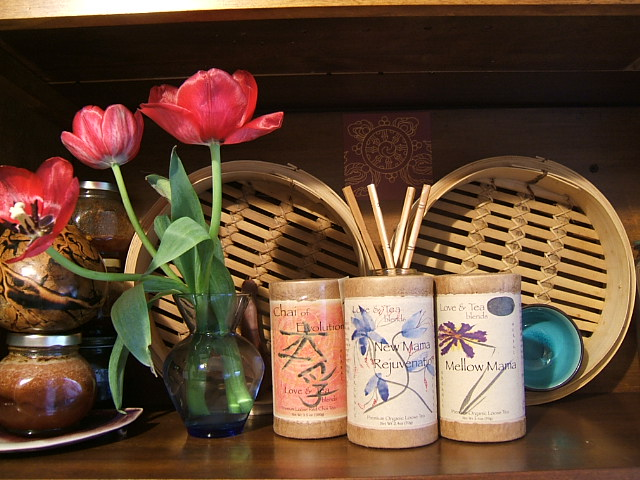 Tea on shelf 1