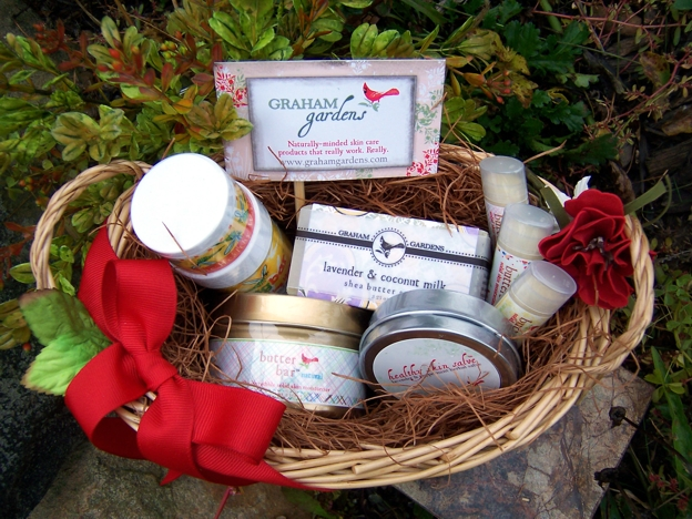 October Give-Away Basket