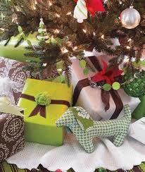 Presents under tree